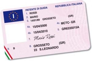 carteira de motorista italiana