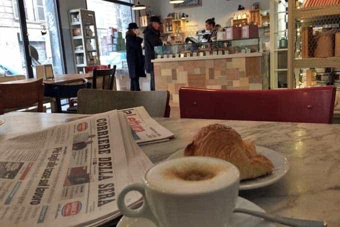Café da Manhã na Italia