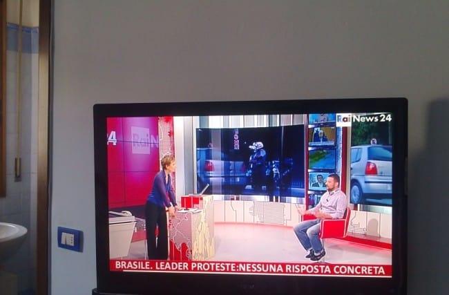 Entrevista ao Vivo na Rai News