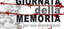 Giorno della Memoria – Dia das vítimas do Holocausto