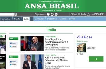 Fonte de notícias sobre a Itália