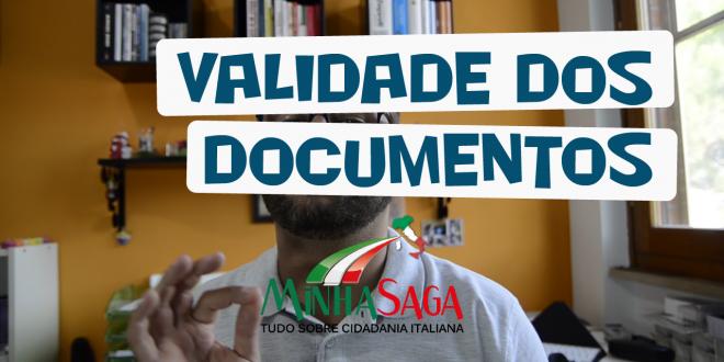 Validade dos documentos #Video