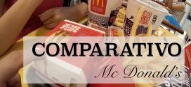 Comparativo Brasil x Italia #01 – Mc Donald's