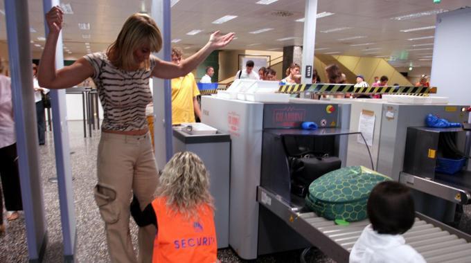 procedimento de inspeção nos aeroportos