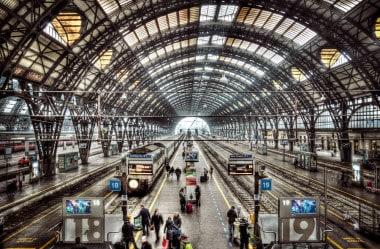 Chegada em Milano