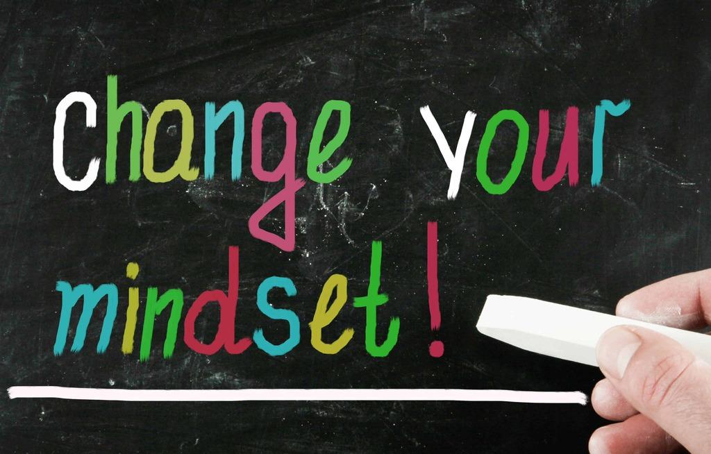 mudança pensamento