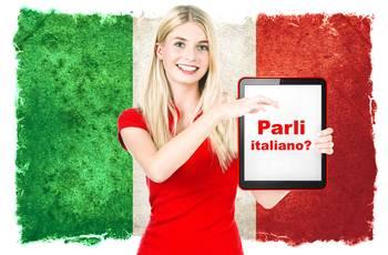 A língua italiana