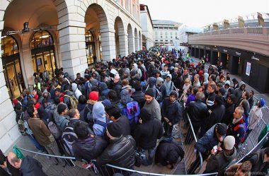 A fila na Italia
