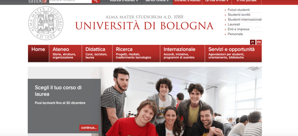 universidade de bologna