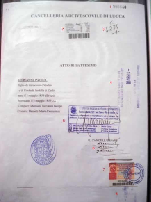 Documento Italiano