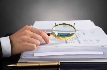 Análise dos documentos