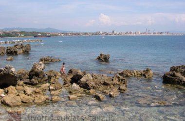 """Tipos de praia na Italia e um """"causo"""""""