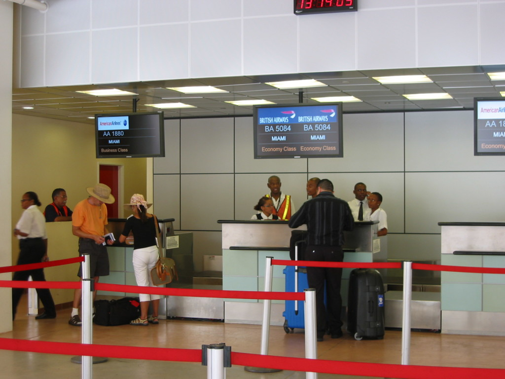 check-in aeroporto