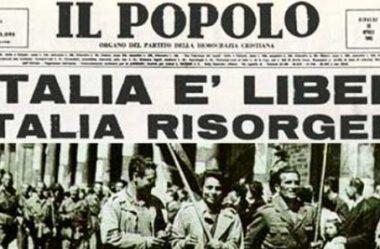 25 de abril – Festa della Liberazione Italiana