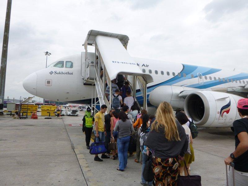 entrando no avião 1