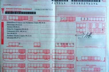 Saúde na Italia: Realizando exames de sangue