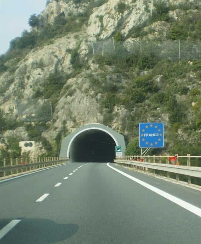 fronteira italia e frança