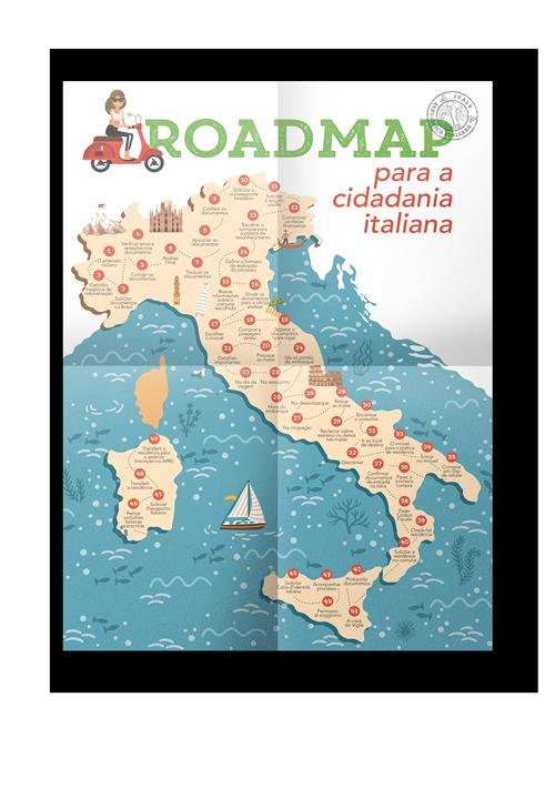 MAPA DA CIDADANIA ITALIANA
