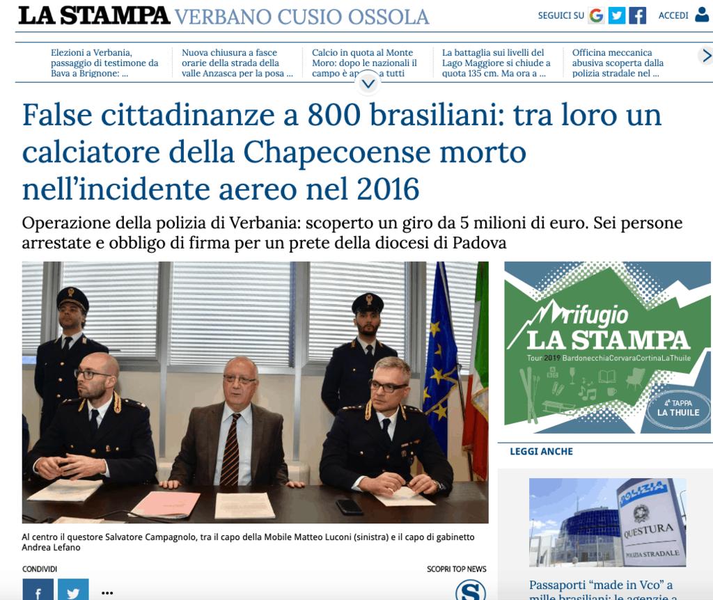 Cidadanias Italianas Canceladas
