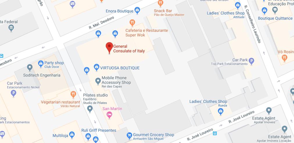 Consulado Italiano em Curitiba (PR)