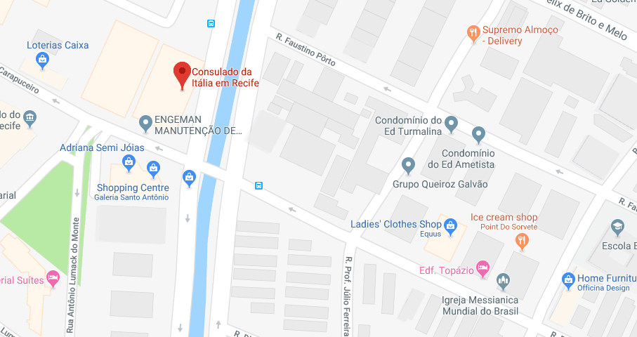Consulado Italiano de Recife (PE)