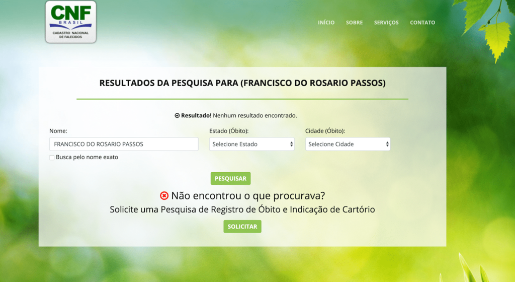 Óbitos no Brasil