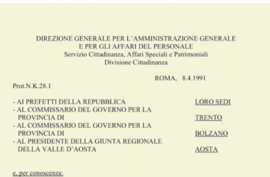 Circular K28 | Entenda o Documento Mais Importante da Cidadania Italiana